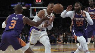 Che succede ai Lakers? Preseason da incubo e problema Westbrook