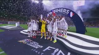 La Francia trionfa in Nations League