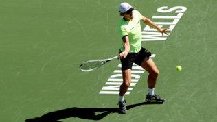 Sinner negli ottavi di Indian Wells: possibile derby con Berrettini