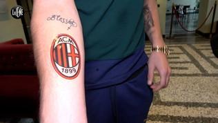 """Gigio, dopo i fischi il tatuaggio del Milan... """"Sarò sempre un cuore rossonero"""""""