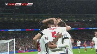 Inghilterra-Ungheria 1-1, pareggio di Stones