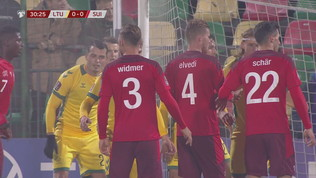 Lituania-Svizzera 0-4: gli highlights