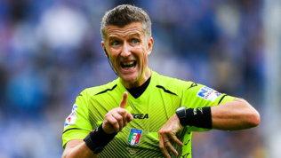 Il big-match Juve-Roma a Orsato. Irrati dirige Lazio-Inter
