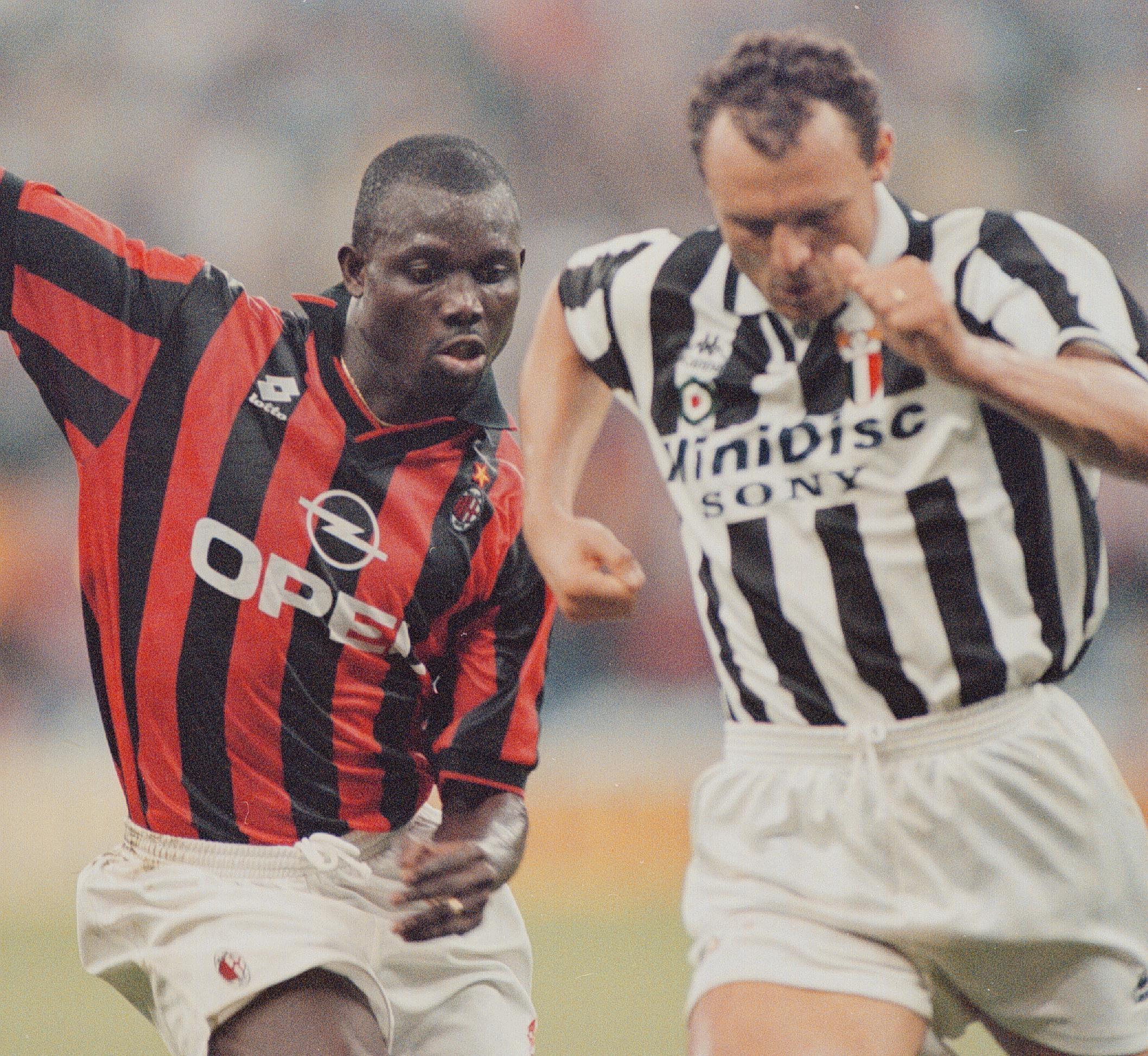 Pietro Vierchowod (1982-83 Roma, 1995-96 Juventus)