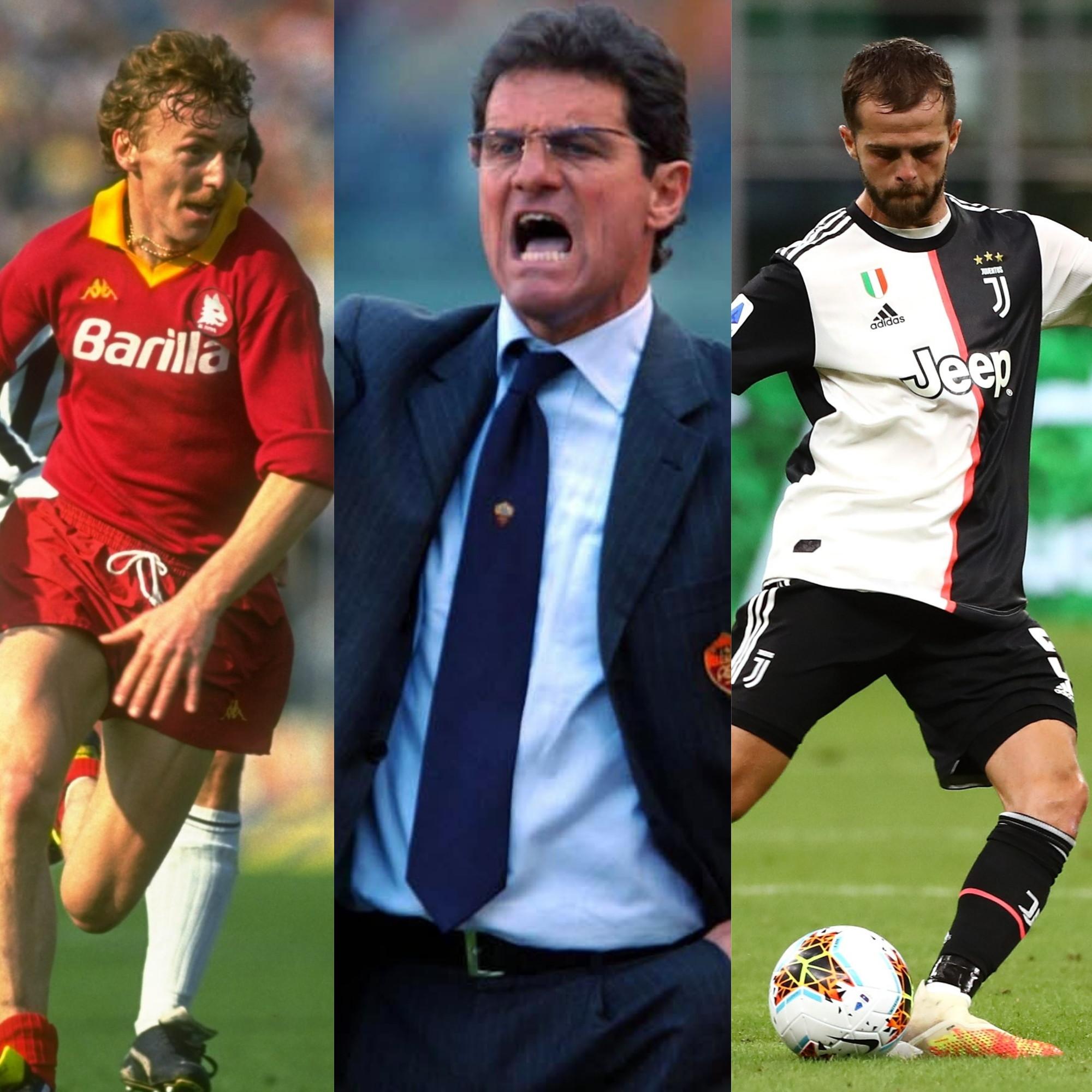 Da Fabio Capello a Leonardo Spinazzola, sono in 22 ad aver giocato (o allenato) sia con i colori bianconeri che con quelli giallorossi.<br /><br />