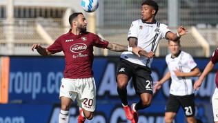 Spezia-Salernitana, le immagini del match