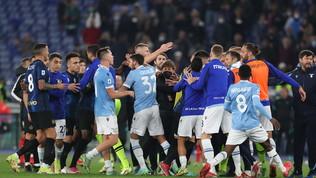 Lazio-Inter, rissa e nervi tesi