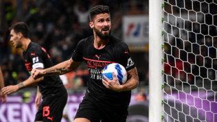 Milan all'inferno e ritorno col Verona: da 0-2 a 3-2 con Giroud-Kessie