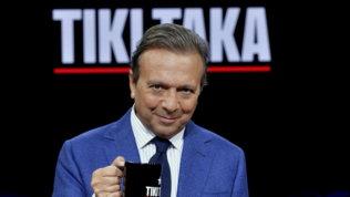 Tiki Takasu Italia 1: il presidente della Figc Gravina ospite di Chiambretti