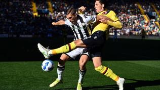 Udinese-Bologna, le immagini del match