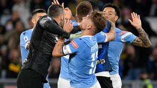 """Handanovic, provocazione a Sarri: """"Perché non hai fatto come Bielsa?"""""""