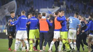 Rissa in Lazio-Inter, una giornata a Luiz Felipe. Ammenda per Kolarov