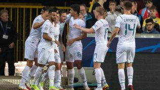 Real e City a valanga, il Liverpool espugna Madrid. Messi ribalta il Lipsia