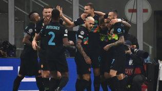 Inter, prima gioia in Champions