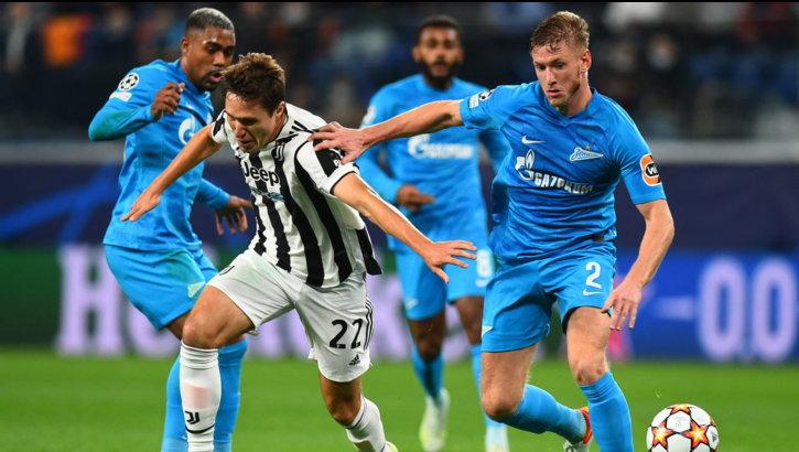 Kritsyuk esce bene su McKennie poi Bonucci salva su Claudinho: Zenit-Juve 0-0LIVE