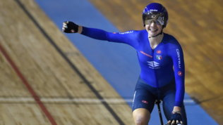 I Mondiali su pista si aprono alla grande:Fidanza oro nello scratch donne