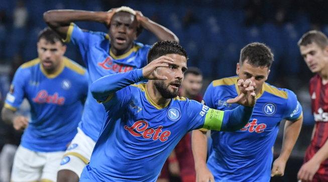 Insigne abbatte il muro Legia, il Napoli si sblocca e torna in corsa