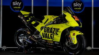 Una moto speciale per ringraziare Rossi
