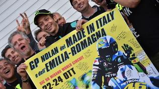 """Rossi saluta e scherza: """"Non correrei le ultime gare..."""""""