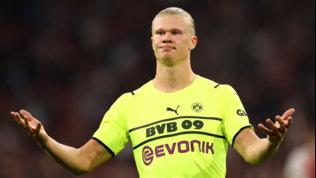 Dortmund, tegola Haaland: rischia di stare fuori fino al 2022
