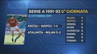 Milan e Napoli, sfida da anni '90